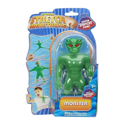 Mini Stretch Armstrong  - GREEN MONSTER - Super Stretchy Fun - NEW
